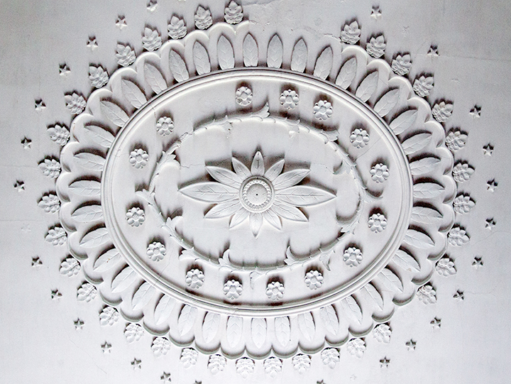 Drayton Hall ceiling medallion