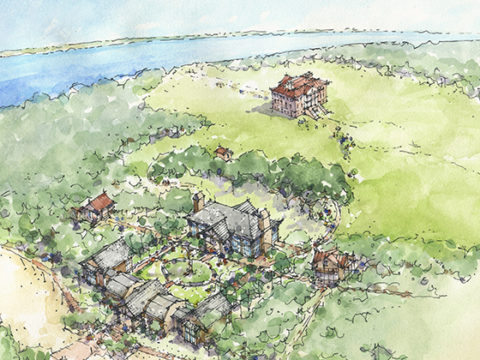 Drayton Hall Sally Reahard Visitor Center Rendering