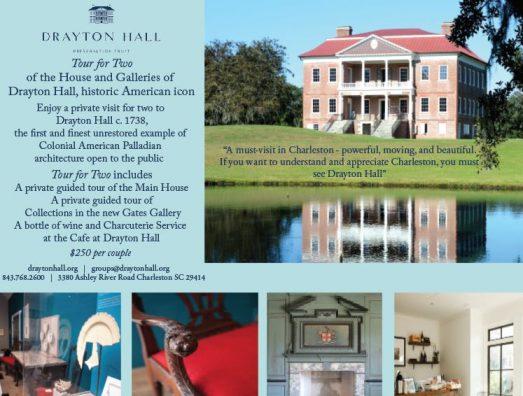 Exclusive Couples tour of Drayton Hall.  plantation private charleston