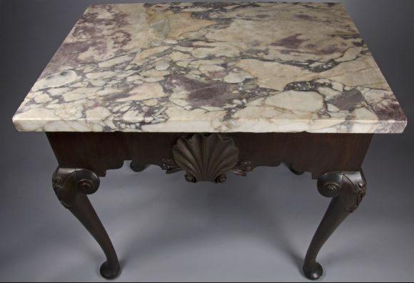 Drayton Hall COllections 18th century furniture original to Drayton Hall Charleston SC