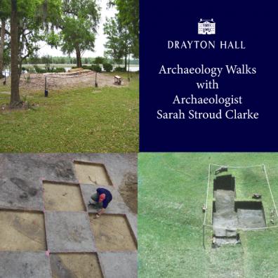 september 2019 events charleston sc drayton hall archaeology walk