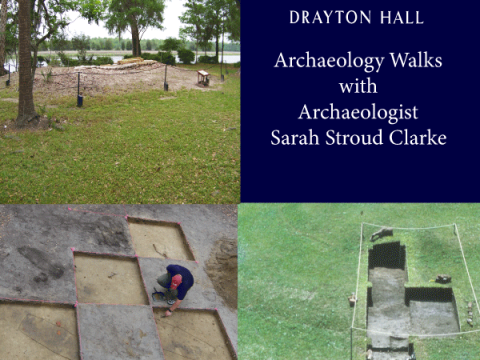 september 2019 events charleston sc drayton hall archaeology walk