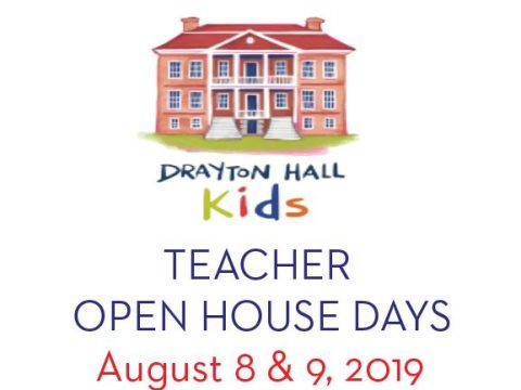 Teacher open house august 2019 drayton hall charleston sc