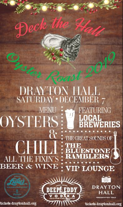 charleston sc december 2019 events oyster roast